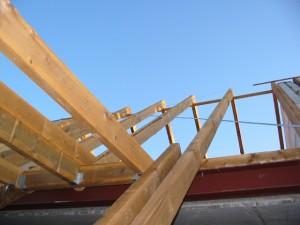 Bild Blick zum Dach